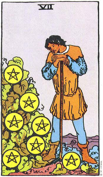 7 of pentacles